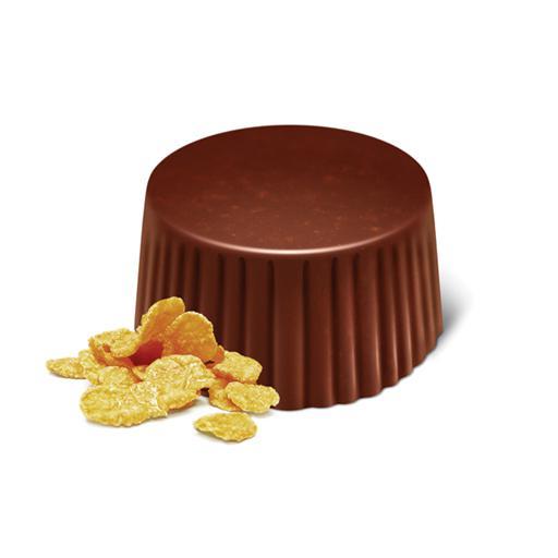 Bombón Chocolate con Leche + Copos Maíz