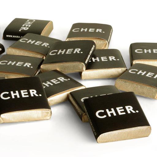 Chocolatín con Logo Personalizado