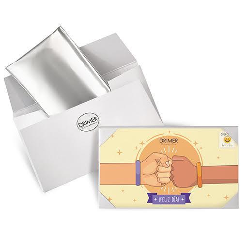 Chocolate + Postal DIA DEL AMIGO
