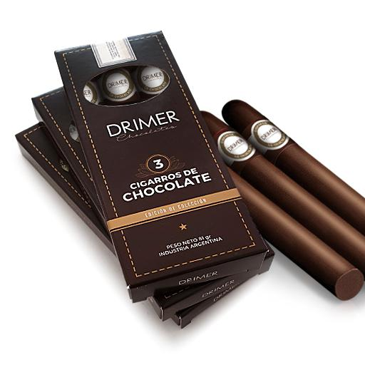 Cigarros en caja x 3 unidades