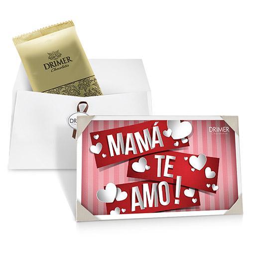 Estuche + Postal MAMA TE AMO