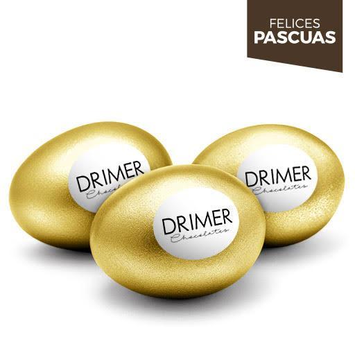 Huevo de Pascua Nº2 ORO - 5cm