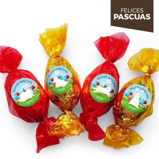 Huevo de Pascua Nº2 de colores - 5 cm