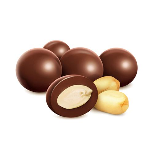 Maní con Chocolate Semiamargo