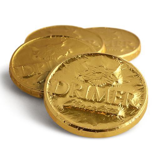 Moneda gigante DOARADA